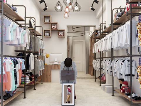 Mẫu nội thất Shop